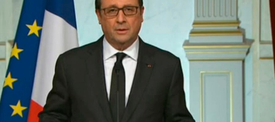 Comparecencia de Hollande