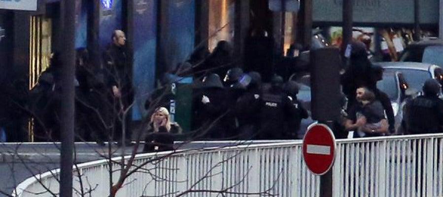 Asalto policial al supermercado kosher de París