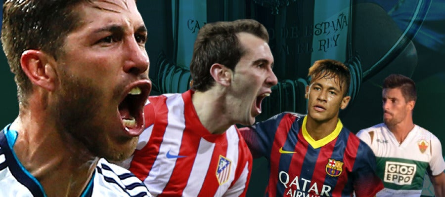 Copa del Rey I Real Madrid - Atlético y Elche - Barcelona