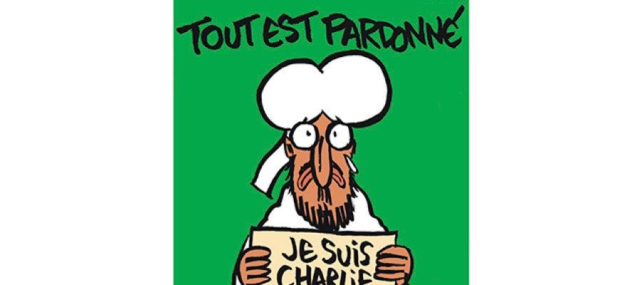 Charlie Hebdo perdona en su portada tras los ataques yihadistas