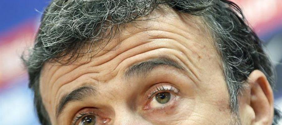 Luis Enrique en rueda de prensa