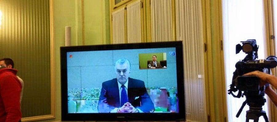 Luis Bárcenas declara en la comisión de investigación de Son Espases.