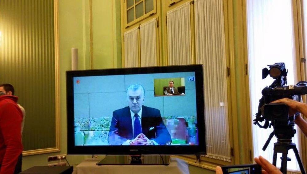 Luis Bárcenas declara por videoconferencia.