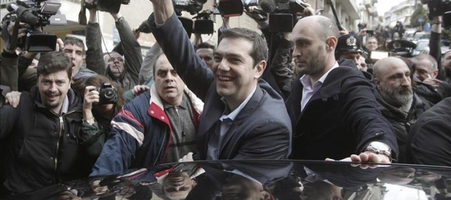 Alexis Tsipras, líder de Syriza