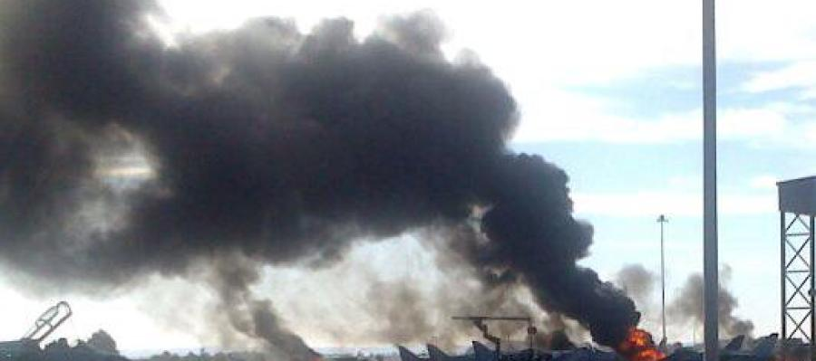 Al menos dos muertos al estrellarse un avión en Albacete