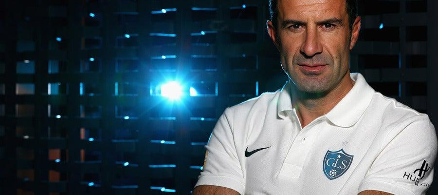 El exfutbolista Luis Figo
