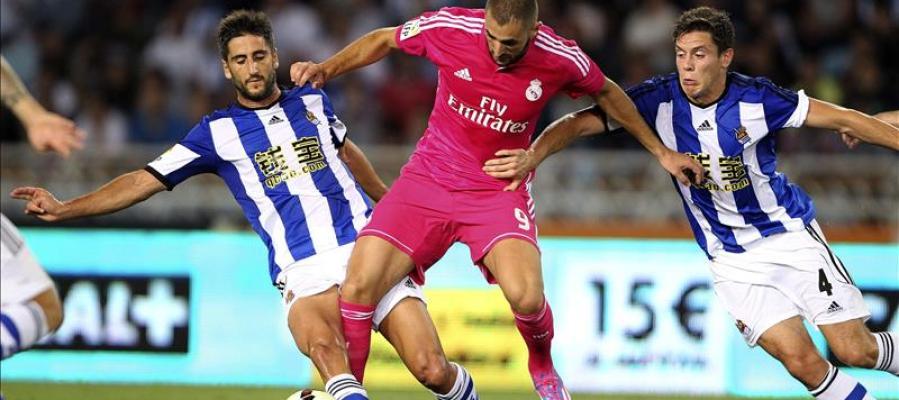 La Real Sociedad se enfrenta al Real Madrid
