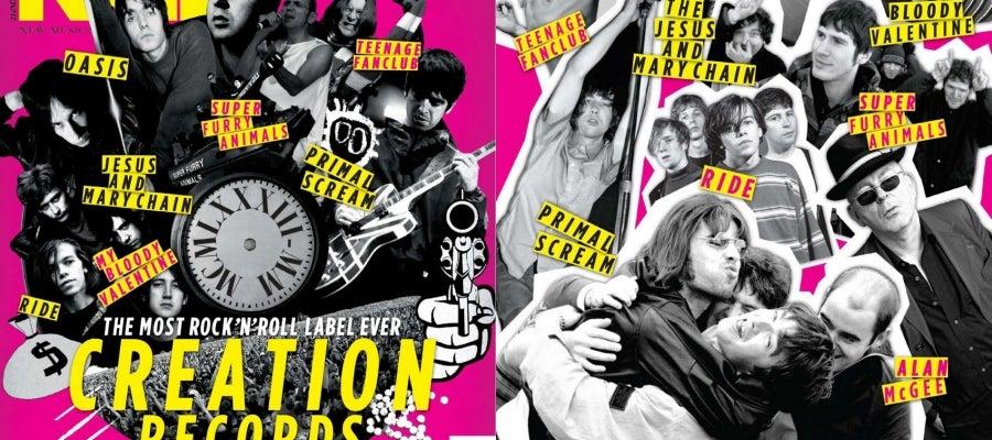 Creation Records en la portada de NME