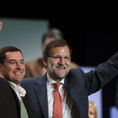 Mariano Rajoy con Juanma Moreno Bonilla