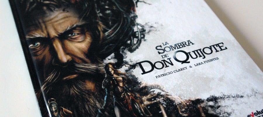 Portada de 'La sombra de don Quijote', que edita Panini Cómics