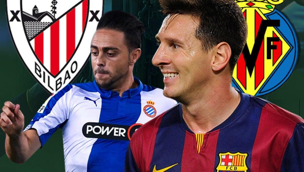 Imagen Copa I Athletic - Espanyol y Barcelona - Villarreal