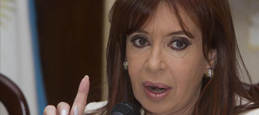 Cristina Fernández en una imagen de archivo