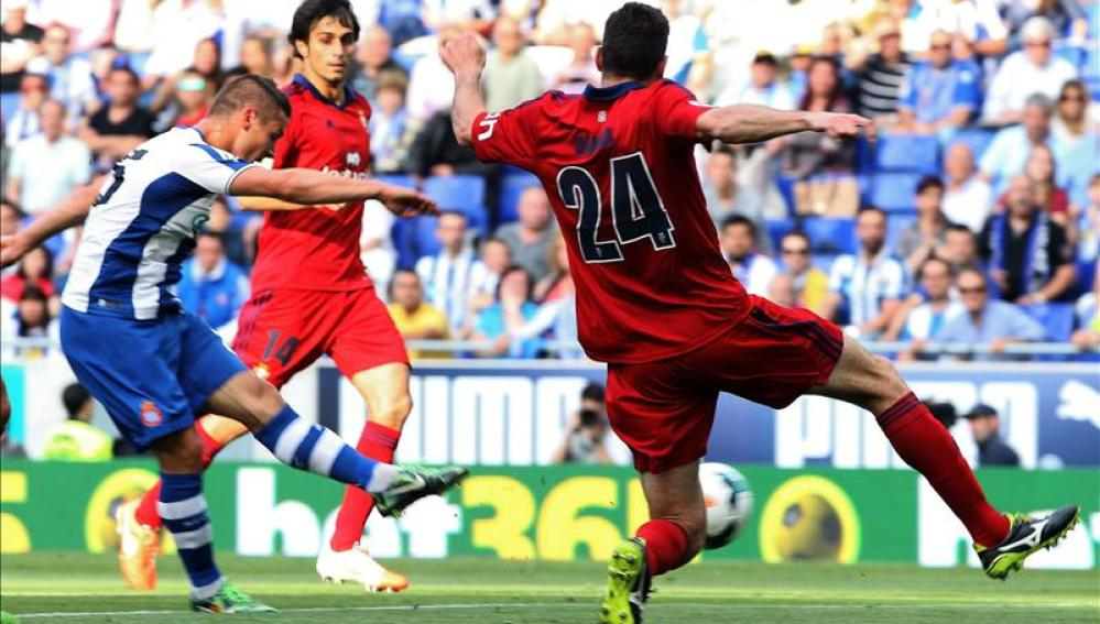 Imágenes del sospechoso partido entre Espanyol y Osasuna