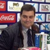Pedro Baile, portavoz de Osasuna
