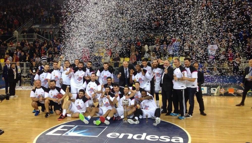 El Real Madrid es el Campeón de Copa del Rey de Baloncesto