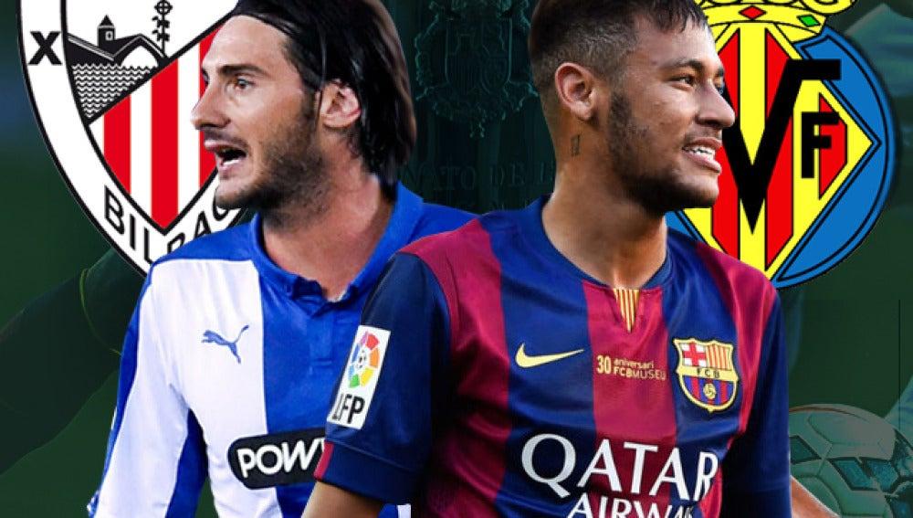 Imagen Noticia Copa del Rey I Athletic - Esapnyol y Barcelona - Villarreal