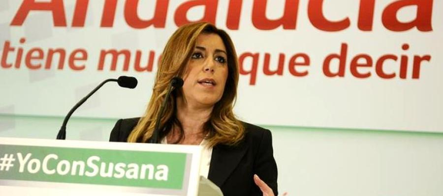 Susana Díaz inicia la campaña electoral para las andaluzas en Almería