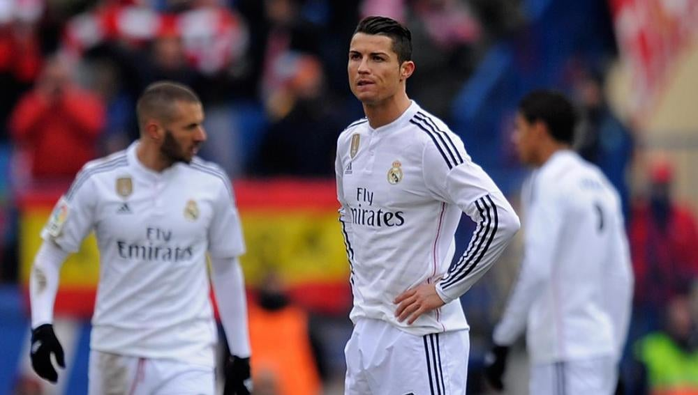 Cristiano Ronaldo, pensativo