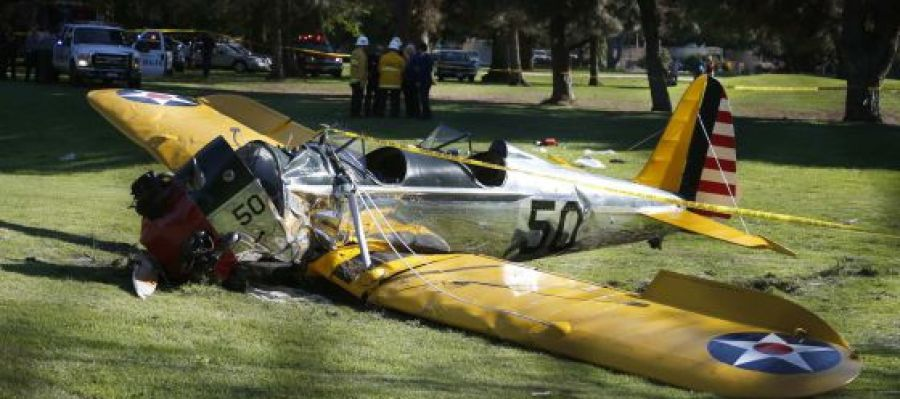 Accidente de la avioneta de Harrison Ford