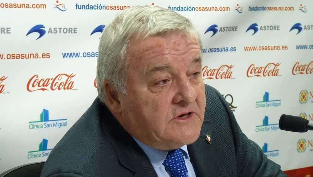 Patxi Izco, expresidente del Osasuna