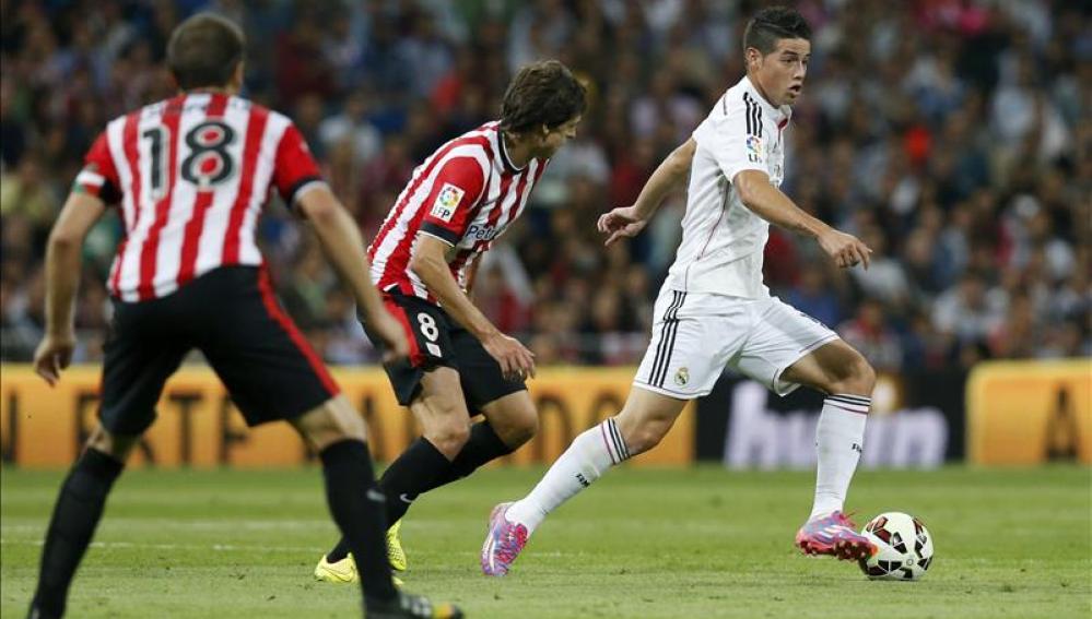 Athletic de Bilbao y Real Madrid se enfrentan en San Mamés