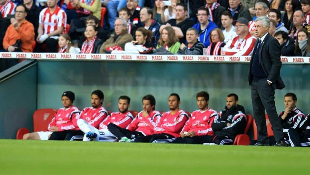 """Carlo Ancelotti: """"falta eficacia en ataque"""""""
