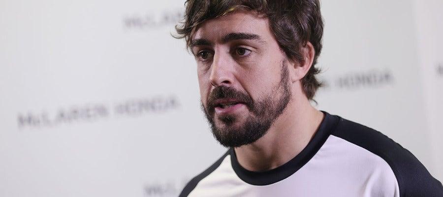 Fernando Alonso, piloto de Mclaren-Honda