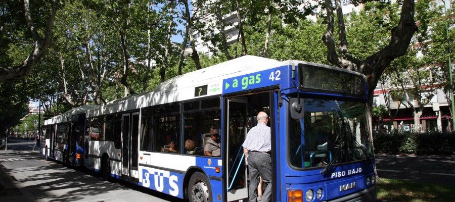 Autobús urbano en Valladolid