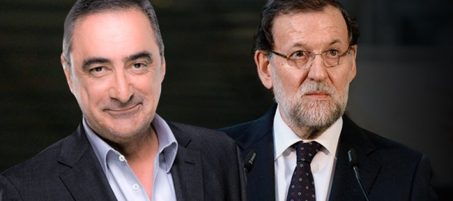 Carlos Herrera entrevista a Mariano Rajoy