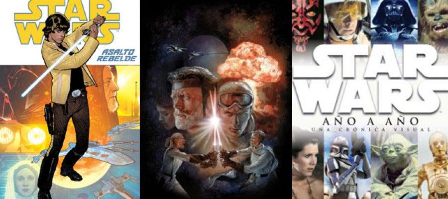 Recopilación de las tres portadas del Universo expandido de Star Wars