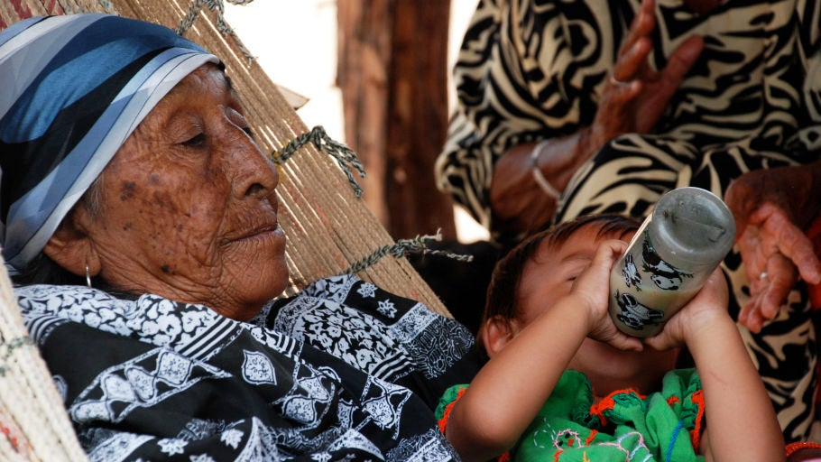 Abuela colombiana - Contraparte