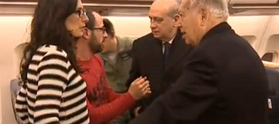 Aterriza avión en Barajas desde Túnez