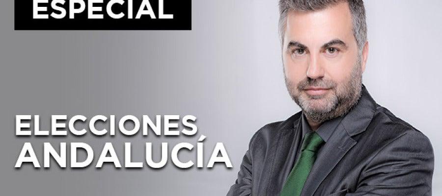 Especial elecciones Andaluzas 2015 Carlos Alsina