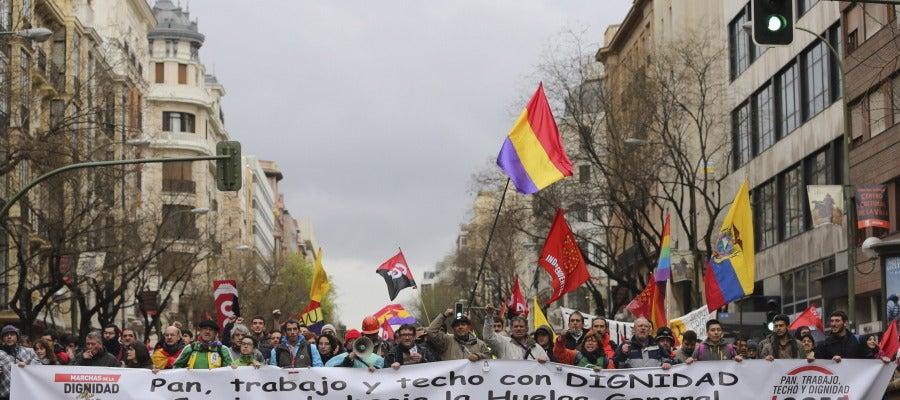 Marchas de la Dignidad 21 de marzo (Madrid)