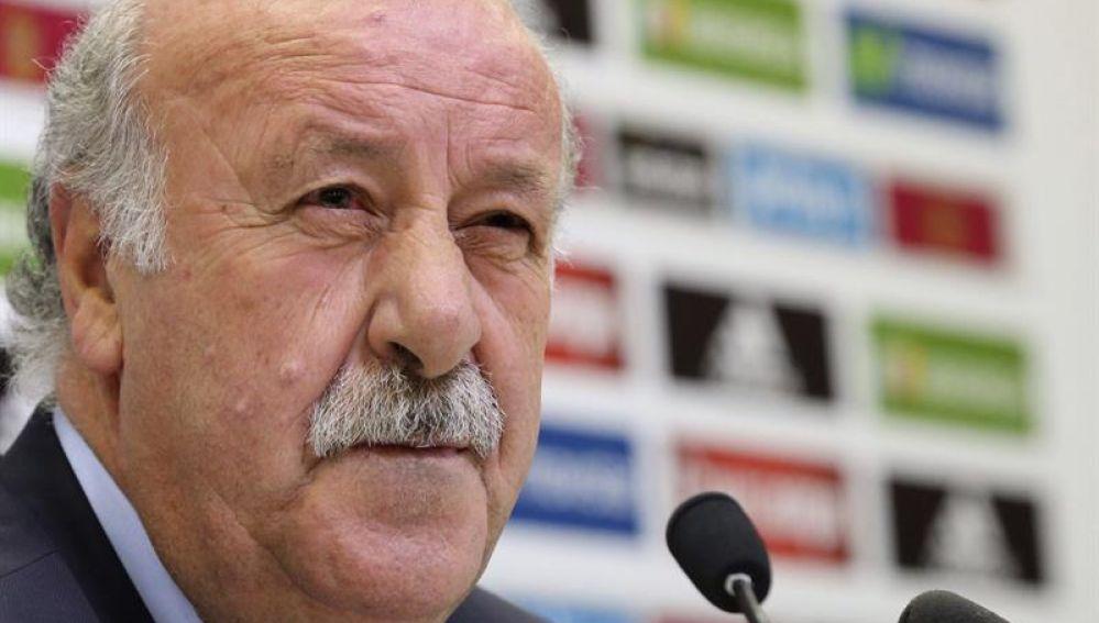 El seleccionar español de fútbol, Vicente del Bosque.