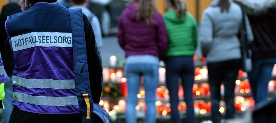 Recuerdan a las víctimas en Alemania