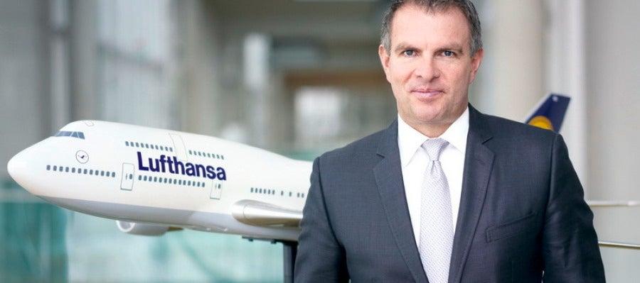 Carsten Spohr. presidente de Lufthansa