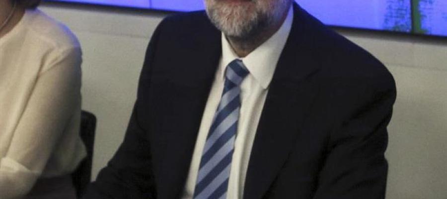 Mariano Rajoy en la Junta Nacional del PP
