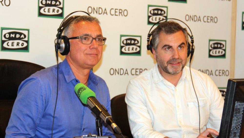 Carlos Alsina y Juan Ramón Lucas en Más de Uno