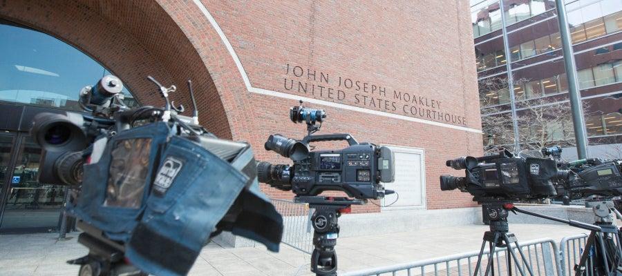 Corte de EEUU donde se ha decidido el veredicto contra Tsarnaev
