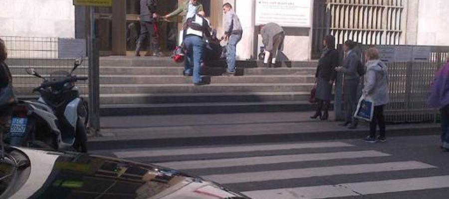 El palacio de justicia de Milán