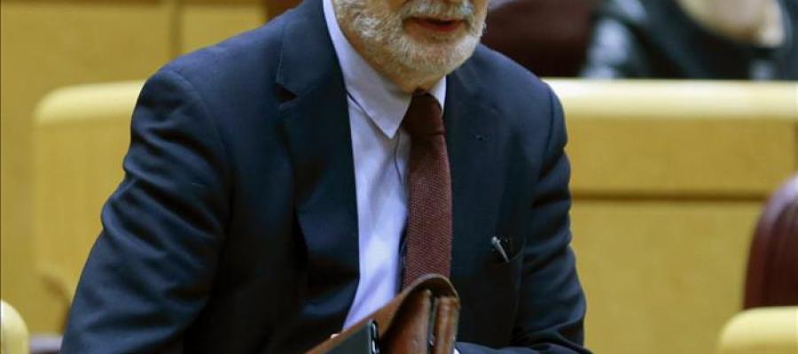 José Antonio Griñán en el Senado (Archivo)