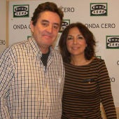 Luis García Montero e Isabel Gemio
