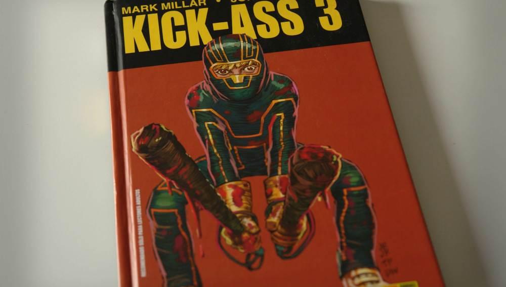Kick-Ass 3. Portada
