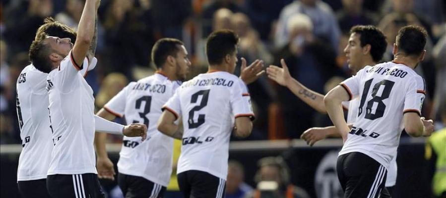 El Valencia gana al Levante en el derbi