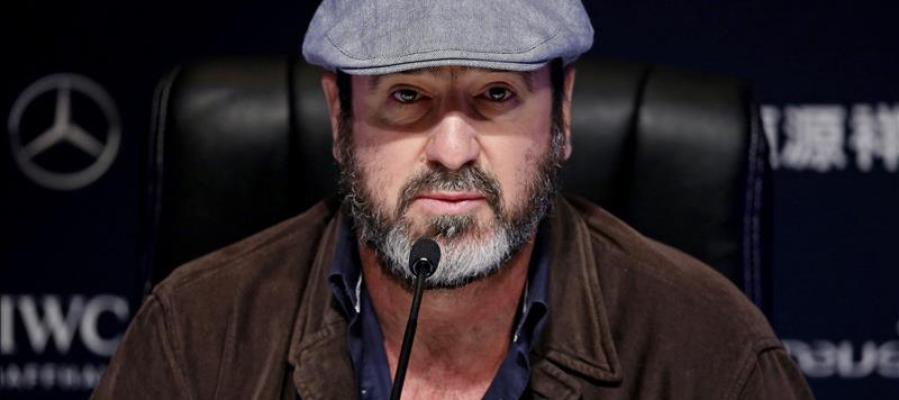 El exfutbolista francés Eric Cantona