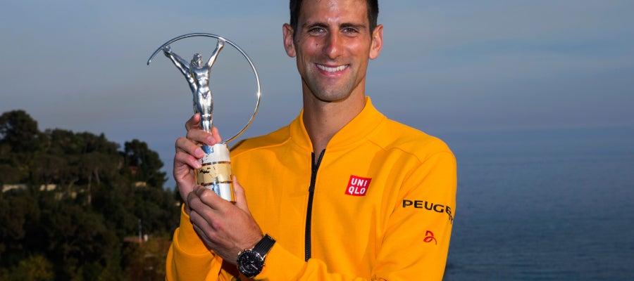 Novak Djokovic, Premio Laureus al mejor deportista del año 2015