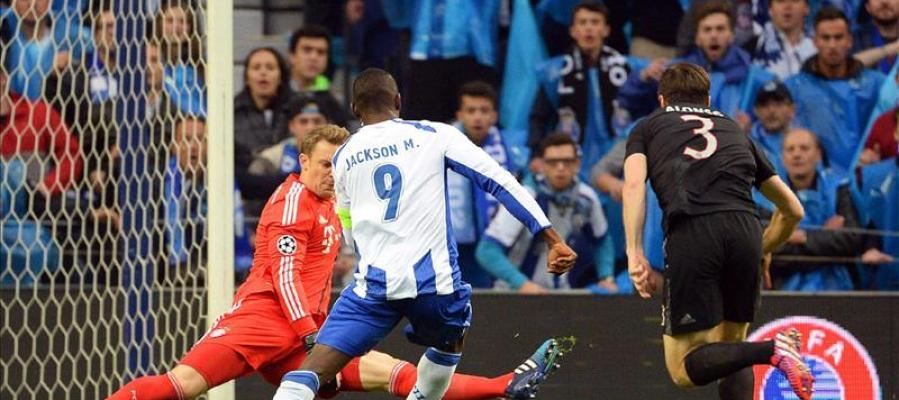 Un sólido Oporto somete a un Bayern frágil en defensa