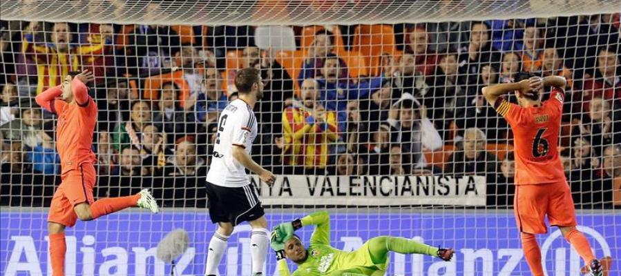 El Barça no quiere más despistes, ante un Valencia que ya le ganó hace un año