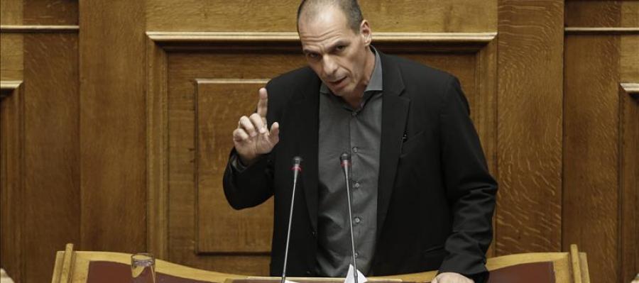 Varoufakis en el Congreso griego